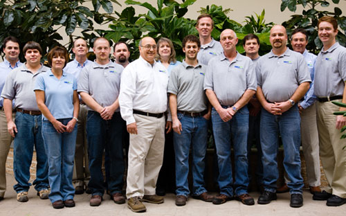 The SilcoTek Team in 2009.
