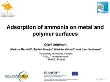 Euramet presentation on ammonia data vs teflon thumbnail