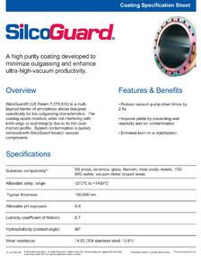 silcoguard-coating-specification