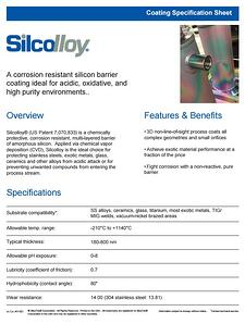 silcolloy_1000_coating_specification